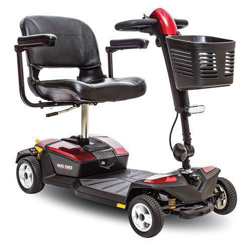 Go-Go LX 4-Wheel Scooter with CTS Suspension