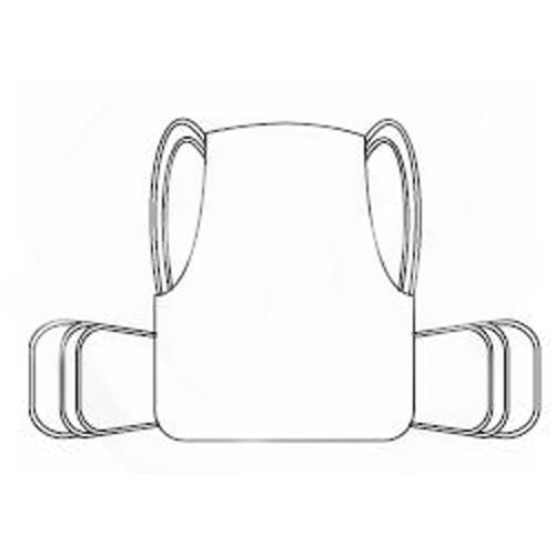 One Piece Lift Sling with Positioning Strap