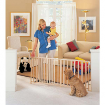 North States Extra-Wide Swing Gate for Pets