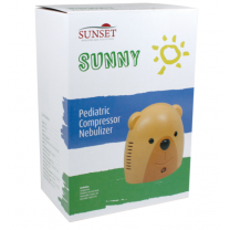 Sunset Pediatric Bear Compressor Nebulizer with Disposable Mask