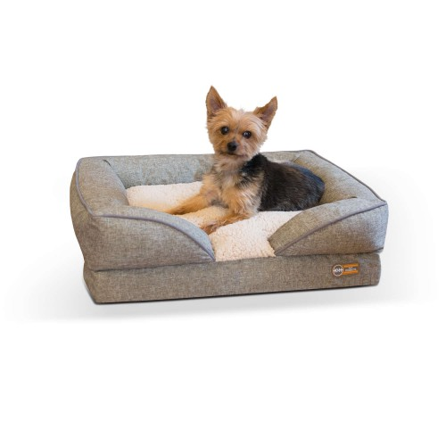 Pillow-Top Orthopedic Pet Lounger