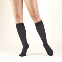 TRUFORM Women's Rib Pattern Trouser Socks 10-20 mmHg