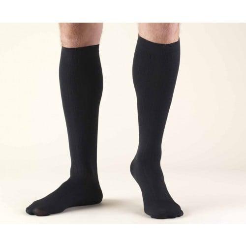 TRUFORM Men's Dress Knee High Socks 8-15 mmHg