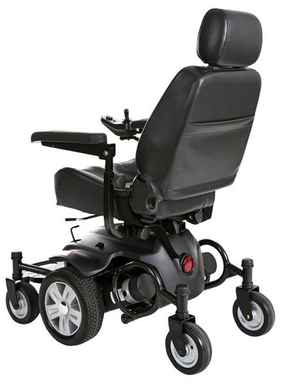 titan axs mid wheel drive powerchair 1be