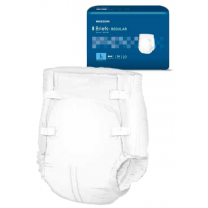 Adult Incontinence Briefs Cloth Backed Regular Absorbency