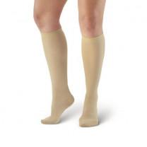 AW Style 169 Women's Cotton Travel Knee-High Socks (15-20 mmHg)