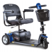 Blue Pride Mobility Go-Go Sport 3-Wheel Scooter