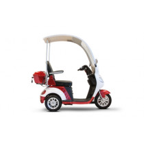 eWheels EW-44 Luxury Three-Wheel Scooter with Canopy