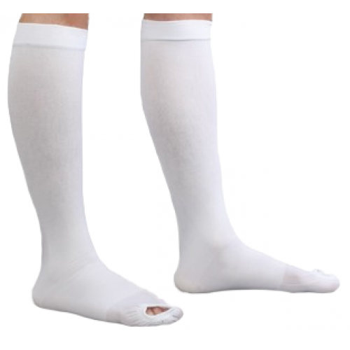 Anti-embolism Stockings CAP Knee-high Open Toe
