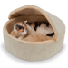 Heated Cat Bed with Cover