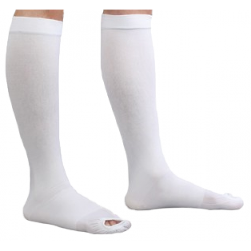 Anti-embolism Stockings CAP Knee-high Open Toe