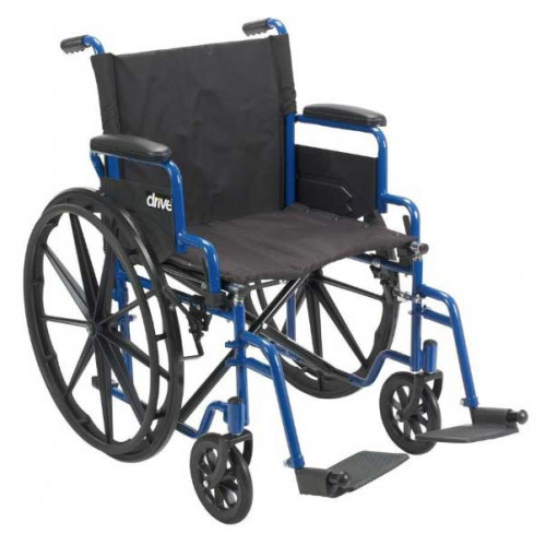 Blue Streak Wheelchair, BUY Swing away footrest, Elevating