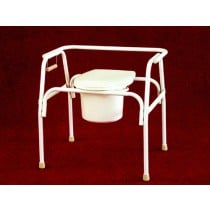 Tubular Fabricators Heavy Duty Extra Large Commode