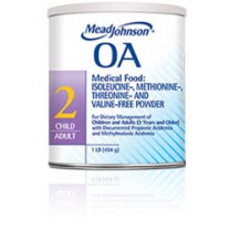 Medical Food Powder for Acidemia OA 2 Child to Adult
