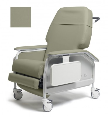 lumex extra wide clinical care geri chair recliner 4f5