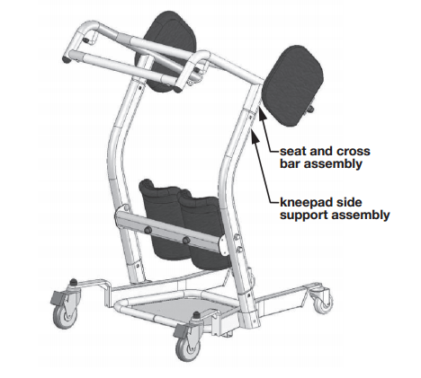 Lumex Bariatric Sit To Stand Lift