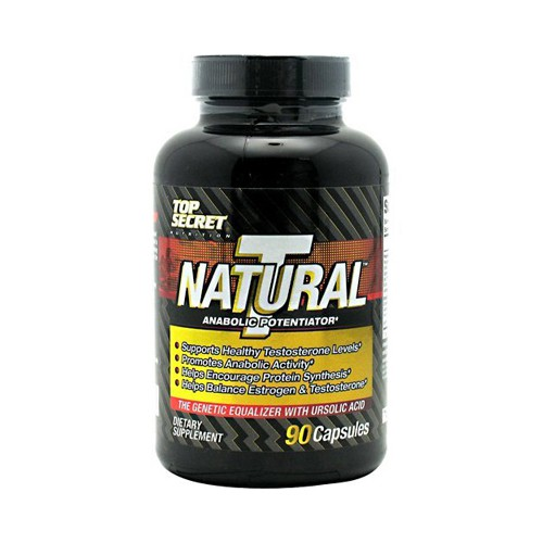 Top Secret Nutrition Natural T Testosterone Booster