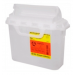 5.4 Quart Clear BD Sharps Container with Counterbalanced Door 305551