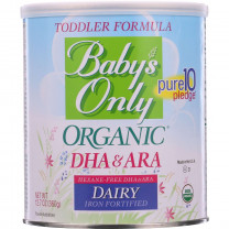 Babys Only Organic Toddler Formula - Dairy - DHA and ARA