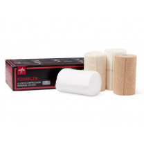 Medline Fourflex Multi-Layer Compression Bandage System - 4 Layer