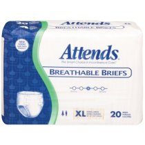 BRBX240 Attends Breathable Briefs