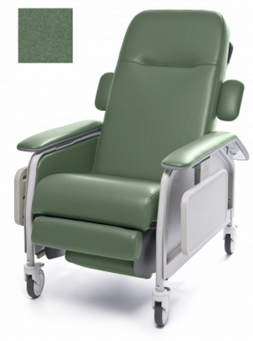 lumex clinical care geri chair recliner 668