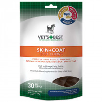 Skin and Coat Dog Soft Chews