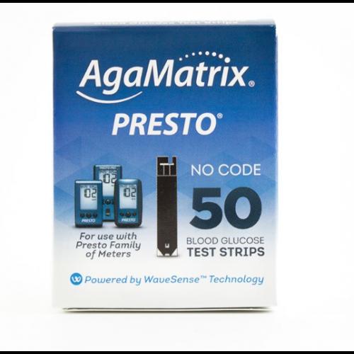 AgaMatrix Presto Test Strips