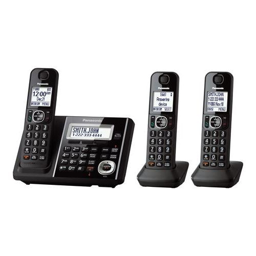 Expandable Cordless Phone with Answering Machine