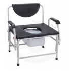 Large Heavy Duty Bariatric Drop Arm Commode by Drive
