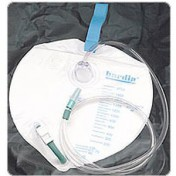 Bardia Closed System Drain Bag - 2000cc | 802001, 802002