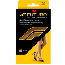 Futuro Energizing Ultra Sheer Pantyhose 8-15 mmHg