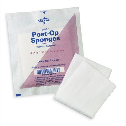 Medline Post-Op Sponges