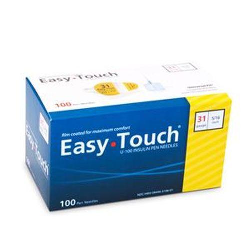 EasyTouch Insulin Pen Needle - 31 Gauge 5/16-Inch