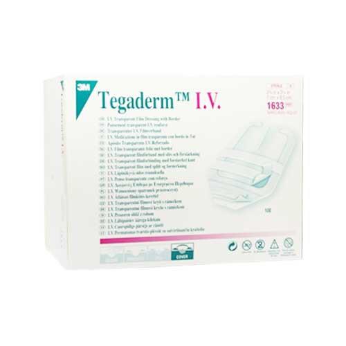 3M 1633 Tegaderm IV 2-3/4 x 3-1/4