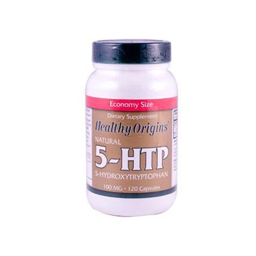 Healthy Origins Natural 5 HTP 100 mg Dietary Supplement
