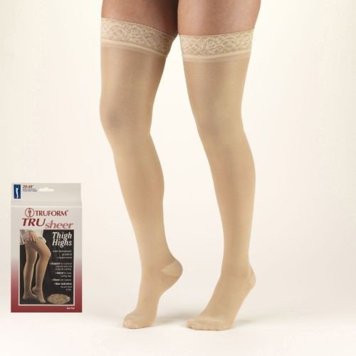 TruSheer Thigh High 30-40 mmHg