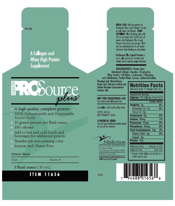 Prosource Plus Liquid Protein Supplement Medtrition