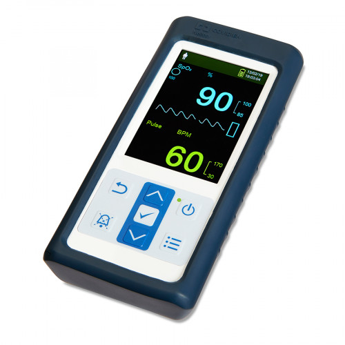 Covidien Nellcor PM10N Handheld Pulse Oximeter with Alarm