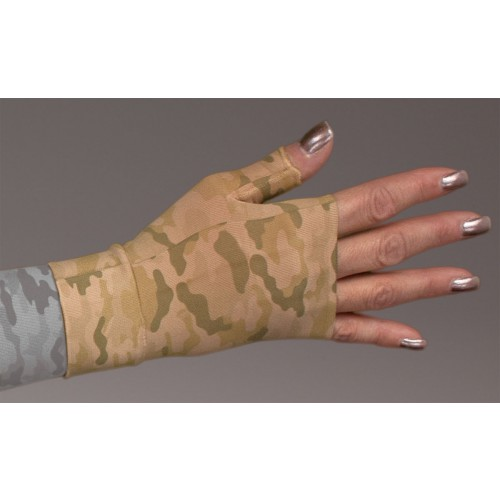 LympheDivas Camouflage Compression Gauntlet 20-30 mmHg
