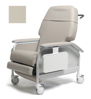 lumex extra wide clinical care geri chair recliner 54f