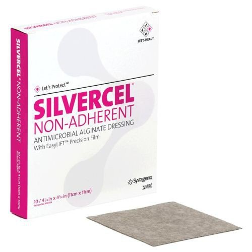 SILVERCEL Non-Adherent Dressing - Antimicrobial Ag ...