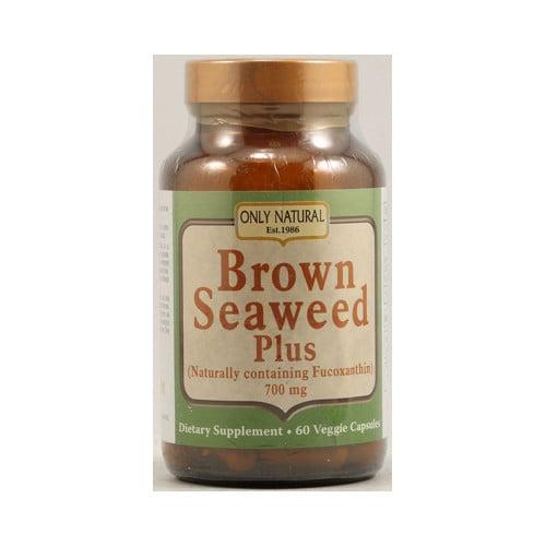 Only Natural Brown Seaweed Plus 700 mg