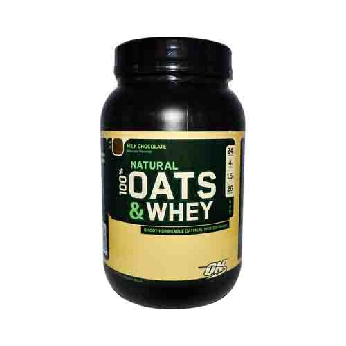 Natural Oats and Whey Protein Shake