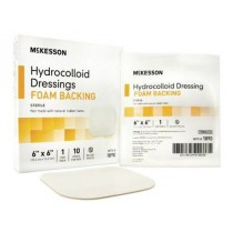 Hydrocolloid Dressing with Foam Backing 6 x 6 Inch - Sterile