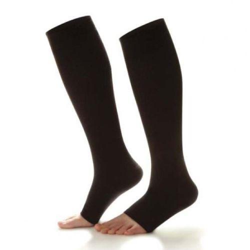 Shape To Fit Open Toe Socks 20-30 mmHg