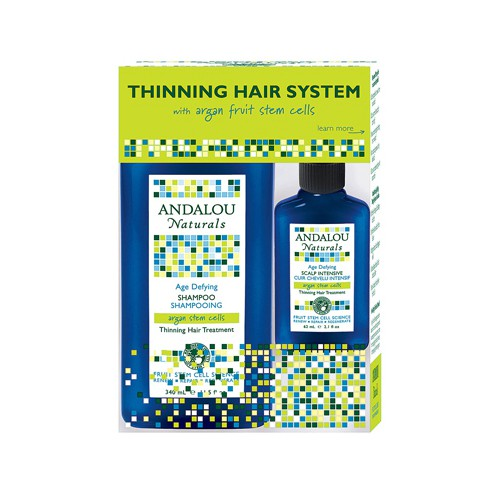 Andalou Naturals Thinning Hair System with Argan Fruit Stem Cells