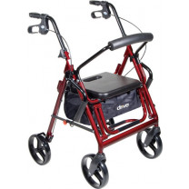 Duet Transport Chair Rollator by Drive