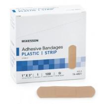 McKesson Adhesive Bandages - Plastic, Strip