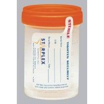 Medegen Starplex Sterile Specimen Containers